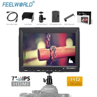 7 IPS Ultra Thin Design 1280x800 HDMI HD On Camera Field Monitor With Peaking Focus FW759