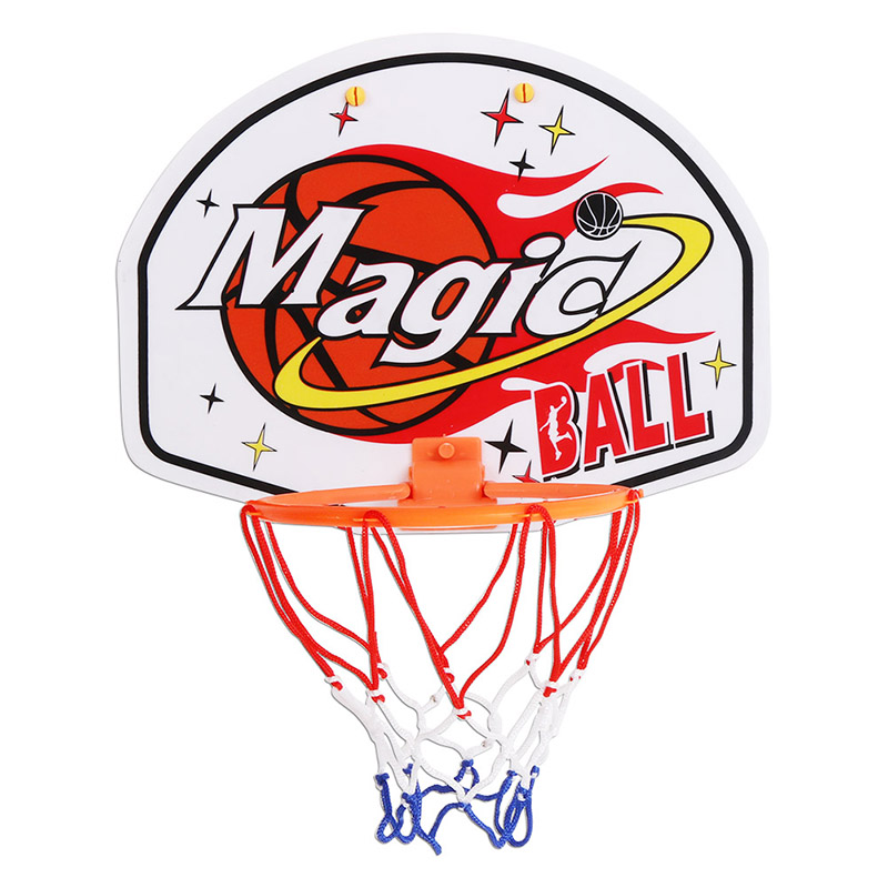 3 PCS 27*21cm Plastic Hanging Basketball Netball Hoop Basketball Box Mini Basketball Board Toy Rebounds Indoor Adjustablejj
