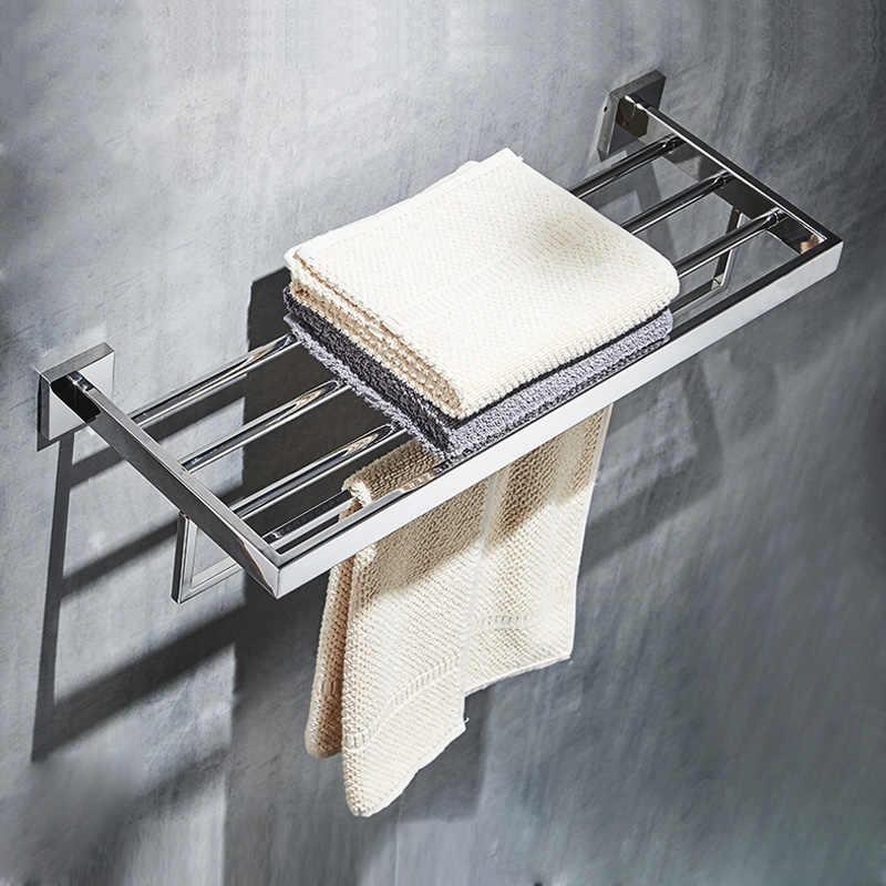 Zestaw ze stali nierdzewnej ze stali nierdzewnej lustro chrom polerowany wieszak na ręczniki uchwyt papier toaletowy uchwyt na papier wieszak na ręczniki hak akcesoria łazienkowe