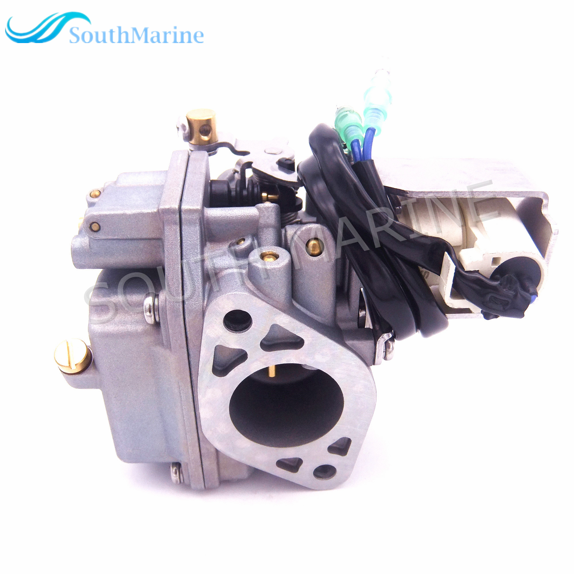 Outboard Engine Carburetor Assy 6AH-14301-00 6AH-14301-01 for Yamaha 4-stroke F20 Boat Motor Free Shipping 6b4 45501 10 driver shaft long for yamaha 9 9hp 15hp 2 stroke 15d outboard engine boat motor aftermarket parts 6b4 45501