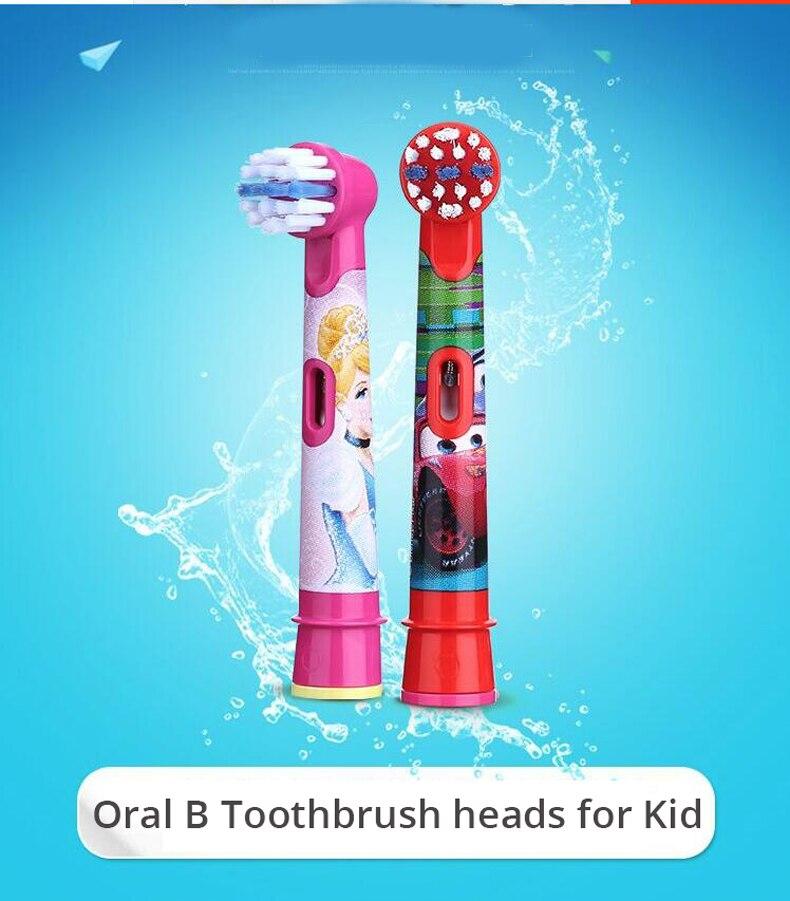 Original oral b substituição cabeças de escova