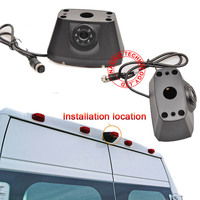 CCD car reverse rear view back up camera for Jeep Dodge RAM Promaster 2014 2016 parking auto camera waterproof IR light HD