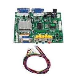 GBS8220 RGBS to VGA Dual Output Adapter CGA/EGA/VGA/YUV Component Signal Input HD Video Converter Board