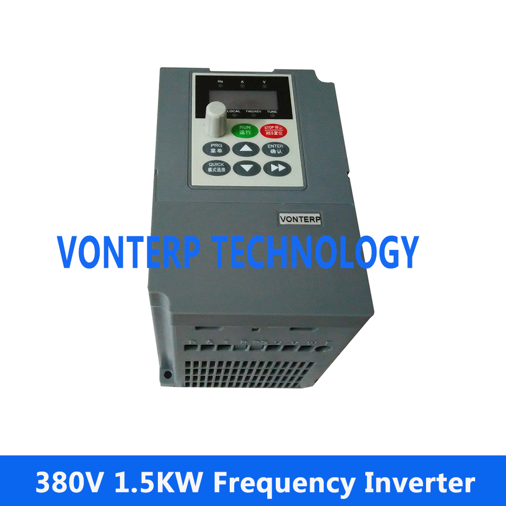 цена на 380V 1.5kw 3.8A 3 phase variable speed drive/Frequency Inverter /frequency converter/ variable speed drive/VFD