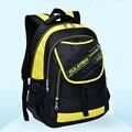 2016 New Children school bags children backpacks kids school bag Leisure waterproof bag Double shoulder bag Q1