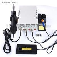 Возняк WL интеллектуальные PPD120SL 3 в 1 A8 A9 Процессор паяльной станции и Термовоздушная паяльная станция PPD 120SL фена