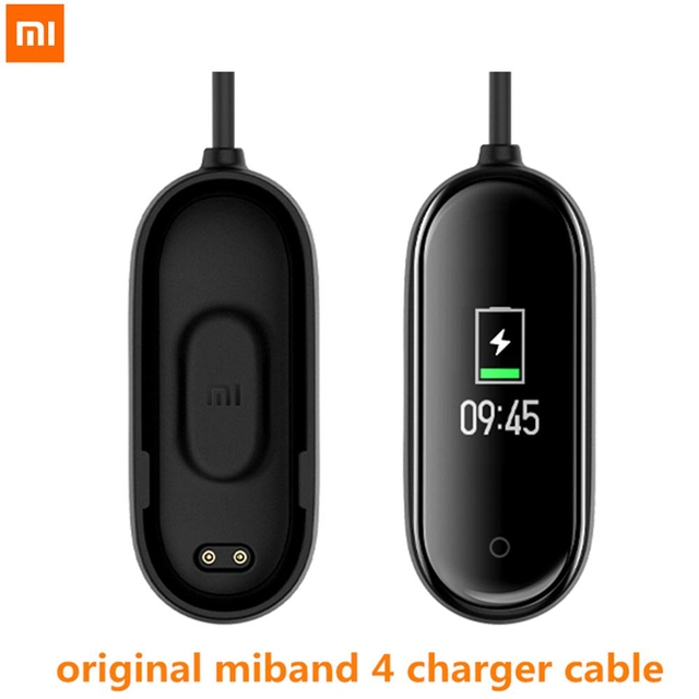 Original Xiaomi USB Charging Cable For Mi Band 4 Replacement Cord Charger Adapter Xiaomi Miband 4 Smart Wristband Accessories
