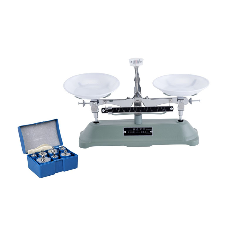 ФОТО JPT-05 The 500g/0.5g Table Balance Scale Mechanical Balance Scale Weight To Send Medicine Tray