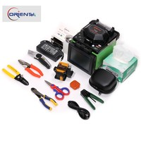 Communication Equipment Orientek T40 PAS Digital Core Alignment Fiber Optic Fusion Splicer Splicing Machine