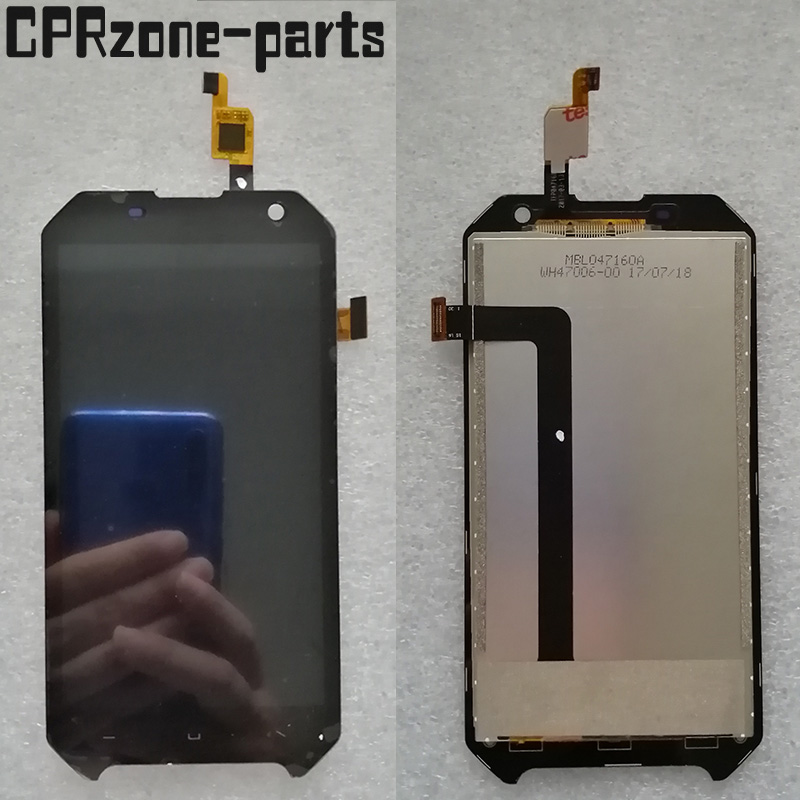 100% Warranty 4.7 inch <font><b>LCD</b></font> For Blackview <font><b>BV6000</b></font> <font><b>LCD</b></font> Display+Touch Screen Digitizer Assembly Replacement BV 6000 Free Shipping image