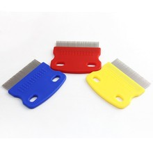 2018 Fashion Dog Cat Kitten Hair Trimmer Brushes Pet Products  For Dogs Cat Removed Flea Combs Pet Supplies