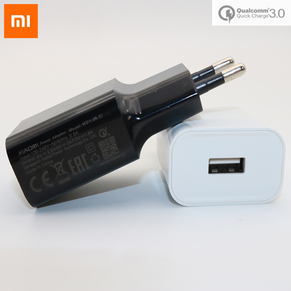 Original Xiaomi Fast Charger Quick Charge 3.0 Adapter Usb 3.1 Type C Cable For Xiaomi Mi 9 8 Se 6 6x A1 Mix 2 2s 5 Max 2 Note 3 Mobile Phone Chargers