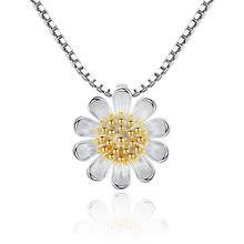 Оптовая продажа модное посеребренное ожерелье с подвеской в