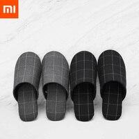 Новинка; домашние тапочки Xiaomi Mijia One Cloud; мягкие удобные зимние тапочки из хлопка с нескользящей подошвой; легкие Тапочки