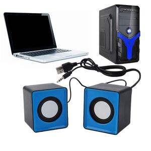 Image 3 - Portable speaker Mini USB 2.0 speakers Music Stereo for computer Desktop PC Laptop Notebook home theater