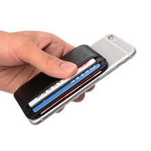 Super Slim Soft Wallet 100% Sheepskin genuine leather mini credit card wallet purse card holders