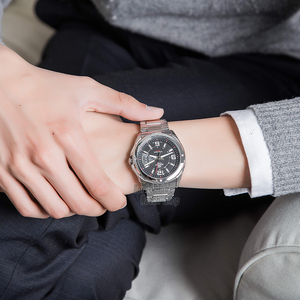 Image 4 - Casio Watch Horloge mannen Quartz Analoog Sport Klok Heren Horloges top brand Luxe 100 m Waterdicht Roestvrij Stalen Militaire Polshorloge Relogio Masculino EF 129 Relojes
