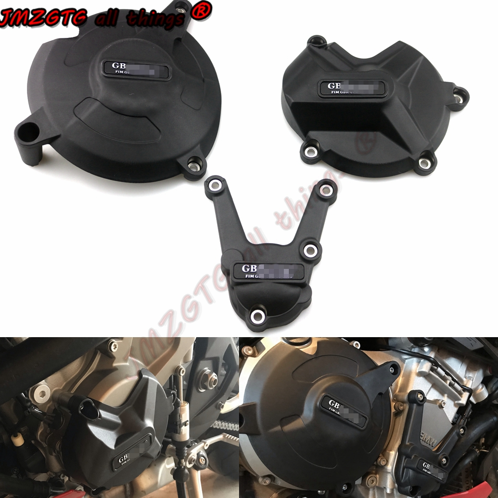Motorcycles Engine cover Protection case for case GB Racing For BMW S1000RR 2017-2018 S1000R S1000XR  Engine Covers Protectors