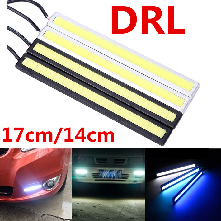 1pair 14cm 17cm 100% Waterproof COB 6W LED DRL Daytime Running Light Auto Led Lamp Parking Running Lights for ford Free Shipping 2pcs set new design drl led daytime running lamp auto cob light 100% waterproof car accessories free shipping