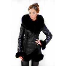 manufacturer direct supplier faux fur coat women Jacket suede jacket winter 2017new hooded fashion special Artificial fox collar(China)