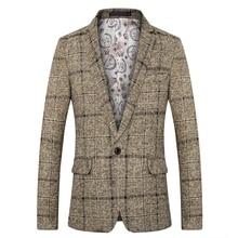 6198f3e3e3a85 2018 yeni varış marka giyim ceket bahar ceket erkek Blazer moda ince erkek  takım elbise rahat