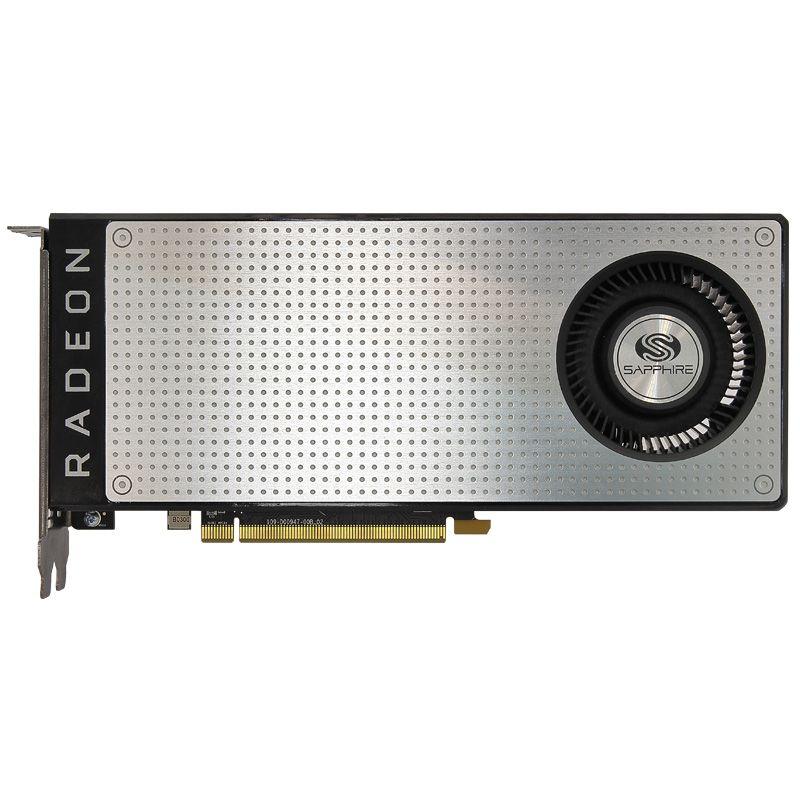 Usado. sapphire rx470d 4g d5 ddr5 pci express 3.0 placa gráfica de jogos de computador hdmi dp