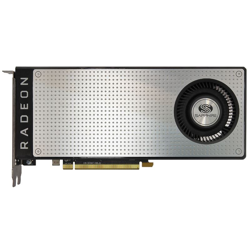 Used.Sapphire RX470D 4G D5 DDR5 PCI Express 3.0 computer GAMING graphics card HDMI DP image