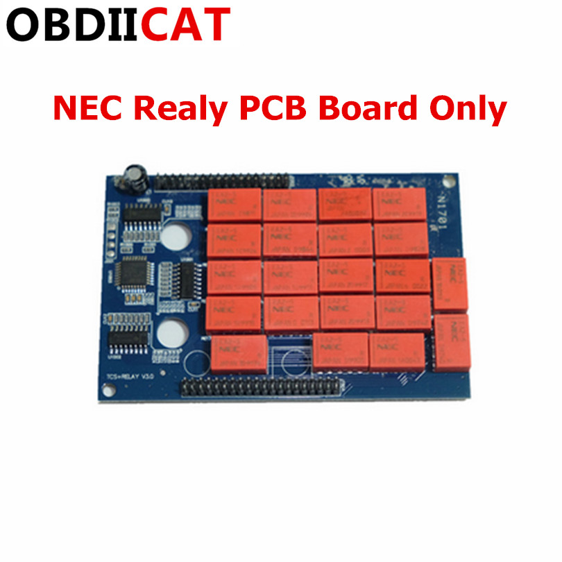 2019 High Quality NEC Relay PCB board only for OBDIICAT-CDP Pro Plus Diagnostic tool NEC relay(China)