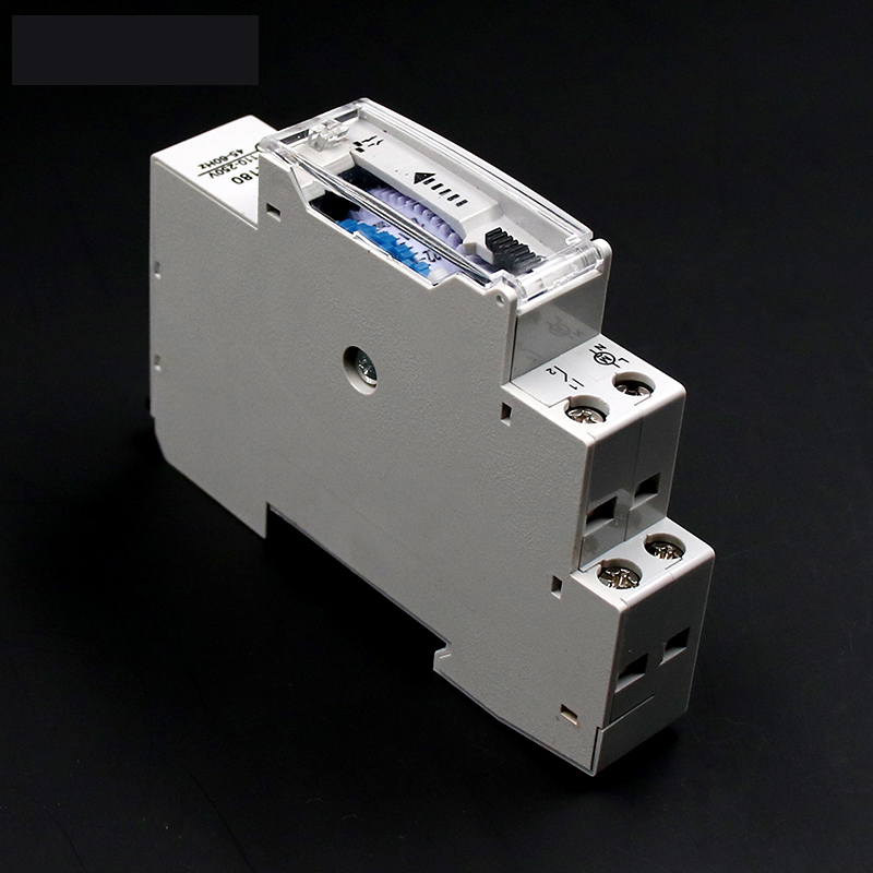 Image 5 - DIN Rail SUL180a Time Switch Mechanical Timer Switch 24 Hours Programmable Timer 16A Time Switch-in Timers from Tools