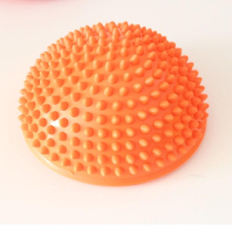 e4d528b777 Meia Bola de Yoga Aptidão Física Aparelho massagem ponto de equilíbrio Bola  Exercício stepping stones vagens equilíbrio Pilates bosu em Bolas Para Ioga  de ...