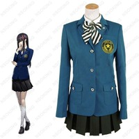 New Persona 5 Tougou Hifumi Cosplay Costum School Uniform Custom Made