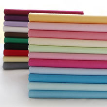 Teramila Cotton Fabrics 18 PCS Solid Color 10cmx10cm Twill Charm Packs Patchwork Fabrics Quilting Stash No Repeat Tissue Cloth