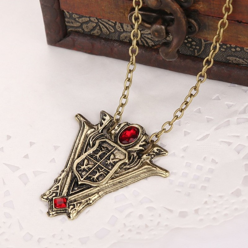 Twilight Saga Volturi Crest Pendant Necklace