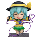 Симпатичные Nendoroid #604 Touhou Project Komeiji Koishi ПВХ Фигурку Модель Игрушки