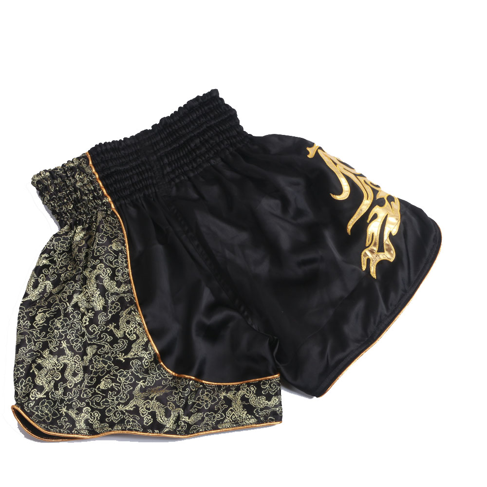 39fab6a0ea Nuovi arrivi 3 colori Muay thai pantaloncini kick pantaloncini da boxe  lotta tronchi mma sport di combattimento pantaloni Nero Rosso argento per  adulti ...