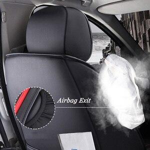 Image 2 - (Front + Rear) Special Leather car seat covers For Suzuki Swift Wagon GRAND VITARA Jimny Liana 2 Sedan Vitara sx4 auto accessory