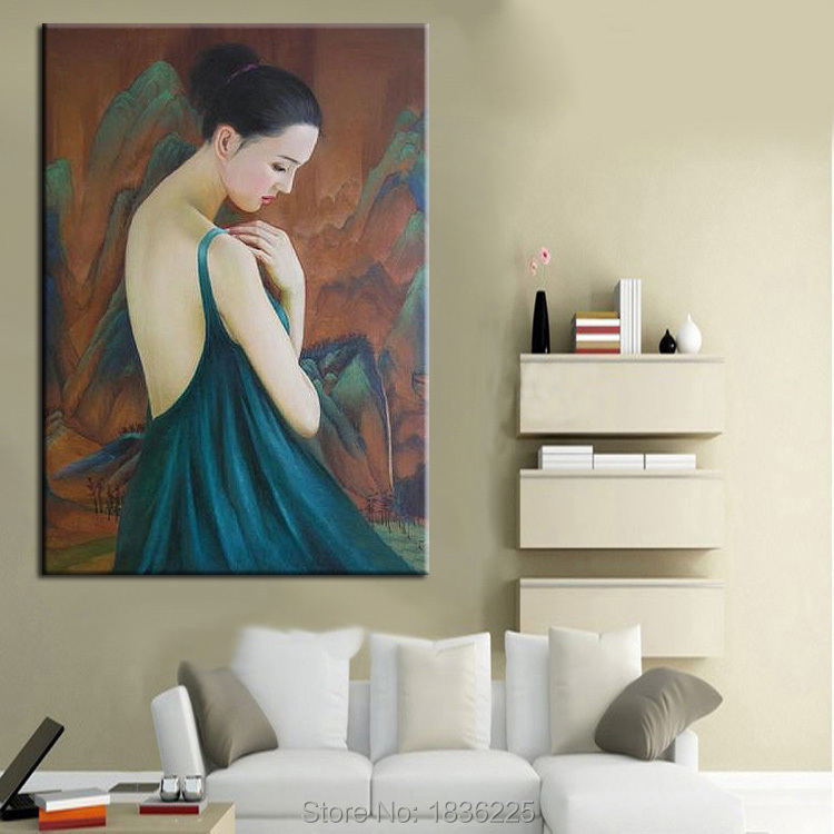 chinese art painting Nude