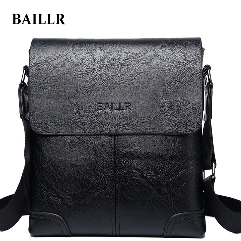 New Men Messenger Bag PU Leather Male Shoulder Bags Famous Brand Fashion Casual Business Men's Travel Crossbody Bags For phone