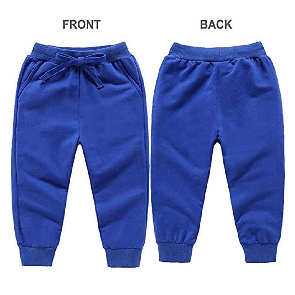 40 pièces coton cordon de serrage taille hiver pantalon enfant en bas âge bébé pantalons de survêtement actifs 2019