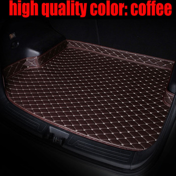Custom fit car Trunk mats for Mazda CX-7 CX7 5D all weather protection heavy duty carpet rugs floor liners(2006-) image