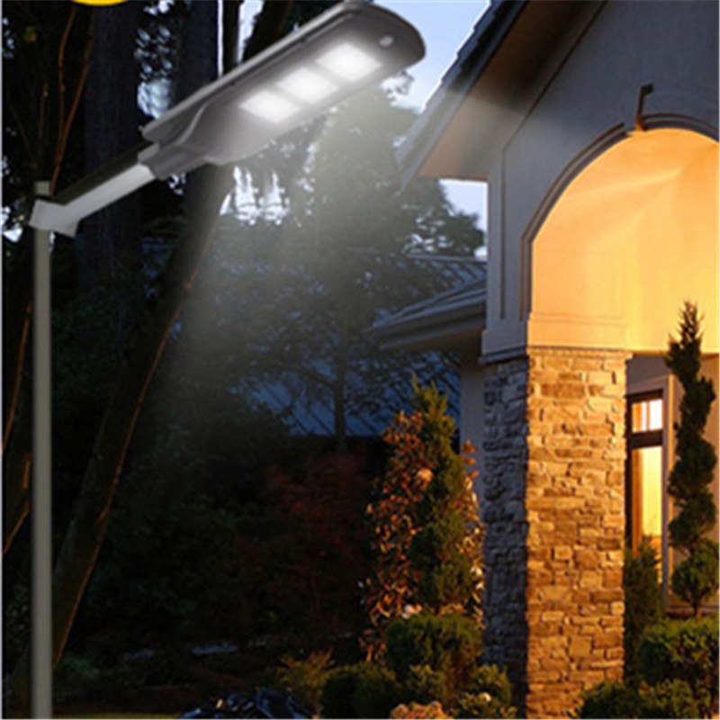 Waterproof Solar Panel LED Wall Street Lights Super Bright Outdoor Garden Lamp Rural Path Villa Energy Saving Emergency Lighting 2016 custom jewelry ebay hot sell men stone bezel setting cz cubic zirconia wedding band rings