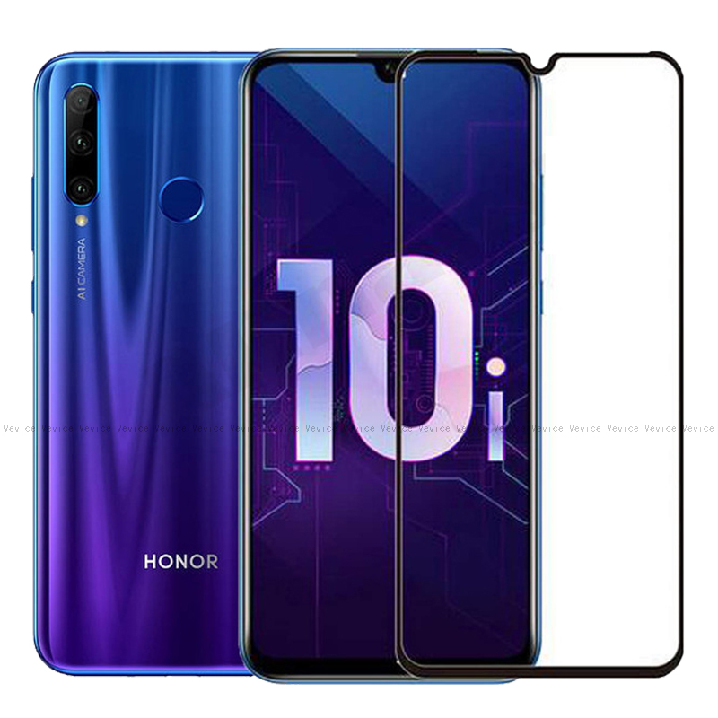 Full Cover Tempered Glass For Huawei Honor 10i 20i 10 9 8 Lite 8X 8C 6C Pro V10 Play Screen Protective Glass For Honor 8x 9 Film