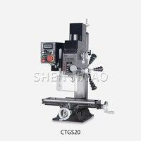 CTGS20 ev mikro makinesi aracı sondaj ve freze makinesi küçük tezgah matkabı mikro freze makinesi küçük freze makinesi