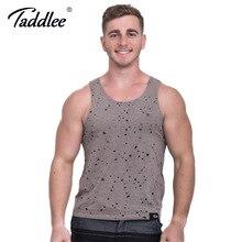 Taddlee marke herren tank top ärmelloses t-shirts mode baumwolle tank solide weiche stilvolle unterhemden 2017 casual shirts bekleidung