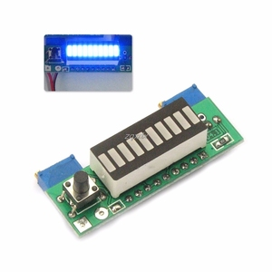 Image 4 - LM3914 3.7V Lithium Battery Capacity Indicator Module Tester LED Display Board Integrated Circuits Whosale&Dropship