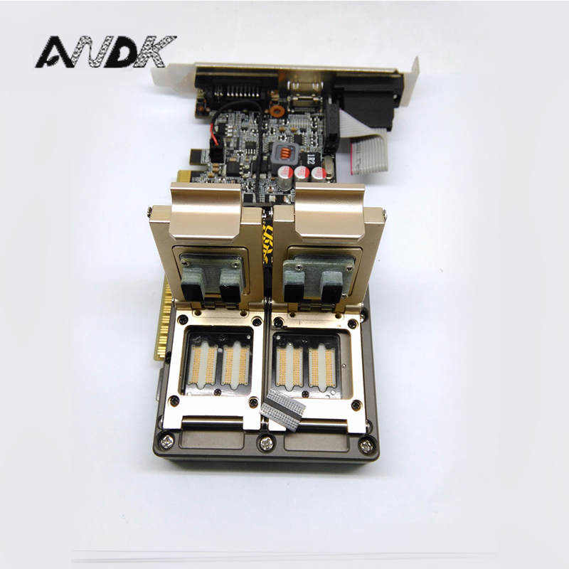 Customized IC test socket GDDR3 Adapter IC Test Socket Analysis Socket double lock clamshell Structure Test socket ic xeltek programmers imported private cx3025 test writers convert adapter