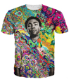 Childish Gambino T-Shirt Hop Hop themed t shirt Fashion Clothing Hipster Summer Style  tops Women/Men Colorful tee Pullover