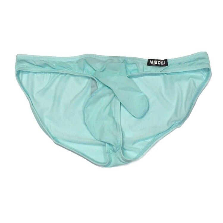ac250f3dc382 2018 Retail Men Underwear Elephant Briefs Ice Silk Underpants Sexy Penis  Sheath Men's Underwear Cuecas Gay Brand Shorts Panties-in Briefs from Men's  ...