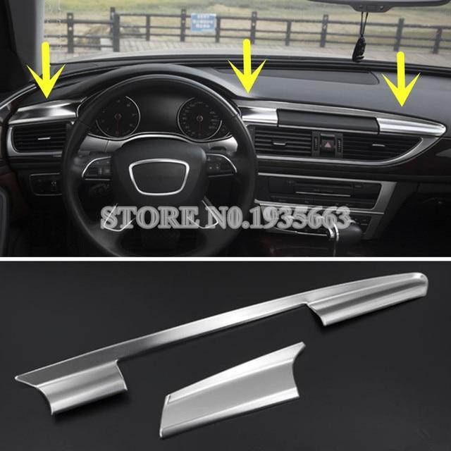 For Audi A C Interior Center Console Moulding Trim Cover - Audi a6 interior
