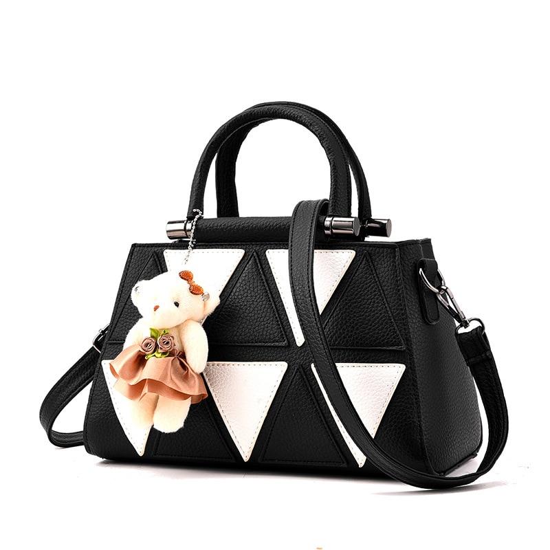 handbag shoulder Messenger leather women tote leather handbags 2017 fashion